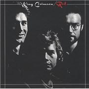 King Crimson Red UK CD album