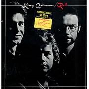 King Crimson Red USA vinyl LP