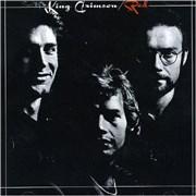 King Crimson Red Japan CD album