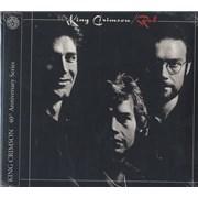 King Crimson Red UK 2-disc CD/DVD set