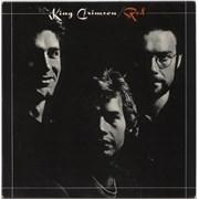 King Crimson Red Italy vinyl LP