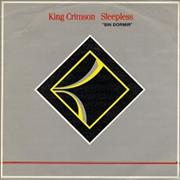 "King Crimson Sin Dormir - Sleepless Spain 7"" vinyl"