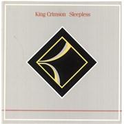 "King Crimson Sleepless UK 7"" vinyl"