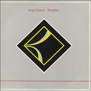 "King Crimson Sleepless UK 12"" vinyl"
