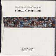 Click here for more info about 'King Crimson - The 21st Century Guide To [Vol. One 1969-1974] - Sealed'