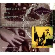 King Crimson The Abbreivated King Crimson UK CD album