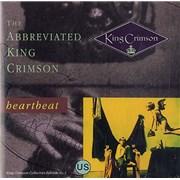 King Crimson The Abbreviated King Crimson: Heartbeat USA CD single