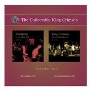King Crimson The Collectable King Crimson Volume 2 UK 2-CD album set