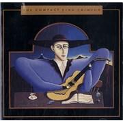 King Crimson The Compact King Crimson UK CD album