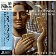 King Crimson The Great Deceiver Vol. 1 Japan 2-CD album set
