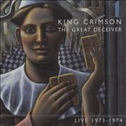 King Crimson The Great Deceiver [Vol. 1] USA 2-CD album set