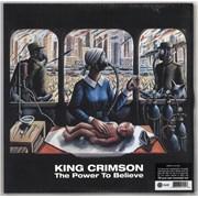 King Crimson The Power To Believe - 200gm Vinyl - Sealed UK 2-LP vinyl set