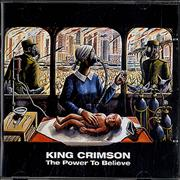 King Crimson The Power To Believe UK CD album