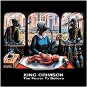 King Crimson The Power To Believe UK CD album