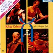 King Crimson Three Of A Perfect Pair - Live In Japan Japan laserdisc