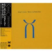 King Crimson Three Of A Perfect Pair Japan CD album