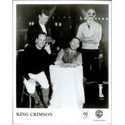 King Crimson Three Of A Perfect Pair USA press pack Promo