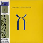 King Crimson Three Of A Perfect Pair Japan CD album