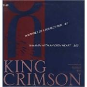 "King Crimson Three Of A Perfect Pair USA 12"" vinyl Promo"