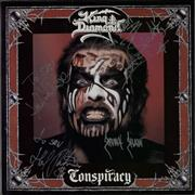 Click here for more info about 'King Diamond - Conspiracy - Autographed'