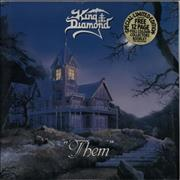 Click here for more info about 'King Diamond - Them + Booklet'