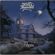 Click here for more info about 'King Diamond - Them - VG'