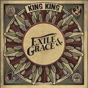 Click here for more info about 'King King - Exile & Grace - Red Vinyl + Autographed Sleeve + Bonus CD-R'