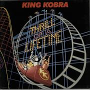 Click here for more info about 'King Kobra - Thrill Of A Lifetime'