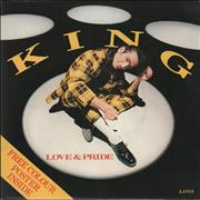 Click here for more info about 'King - Love & Pride - Poster Sleeve'