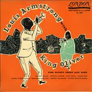 Click here for more info about 'Louis Armstrong With King Oliver'