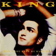 Click here for more info about 'King - Won't You Hold My Hand Now'