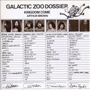 Click here for more info about 'Kingdom Come (Arthur Brown) - Galactic Zoo Dossier'