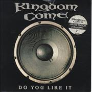 Click here for more info about 'Kingdom Come - Do You Like It - Clear Vinyl'
