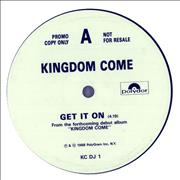 Click here for more info about 'Kingdom Come (80s) - Get It On'