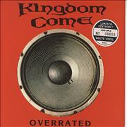 Click here for more info about 'Kingdom Come - Overrated - White Vinyl + Numbered Sleeve'