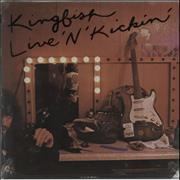 Click here for more info about 'Kingfish - Live 'N' Kickin' - Sealed'