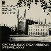 Click here for more info about 'King's College Choir - Palestrina: Missa Papae Marcelli / Missa Brevis'