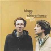 Click here for more info about 'Kings Of Convenience - Toxic Girl'