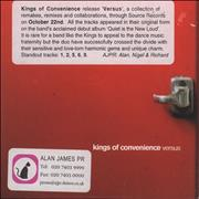 Click here for more info about 'Kings Of Convenience - Versus'