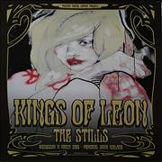 Click here for more info about 'Kings Of Leon - Australian Tour Poster [Adelaide]'