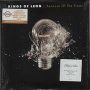 Click here for more info about 'Kings Of Leon - Because Of The Times - 180gram Clear Vinyl - Sealed'