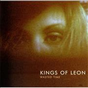 Click here for more info about 'Kings Of Leon - Wasted Time - Silver Vinyl'