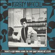 Click here for more info about 'Kirsty MacColl - There's A Guy Works Down The Chip Shop + Sleeve'