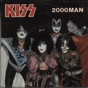 Click here for more info about 'Kiss - 2000 Man + Sleeve - EX'