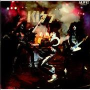 Kiss Alive! - 3rd UK 2-LP vinyl set