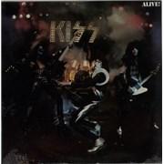 Kiss Alive! - Sealed USA 2-LP vinyl set