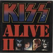 Click here for more info about 'Kiss - Alive II + Booklet - VG/EX'