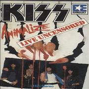 Click here for more info about 'Kiss - Animalize - Live Uncensored Video 8 Cassette'