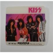Kiss Animalize Japan badge Promo