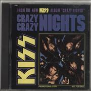 Click here for more info about 'Kiss - Crazy Crazy Nights'